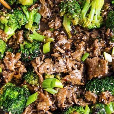 Liellops ar brokoļiem